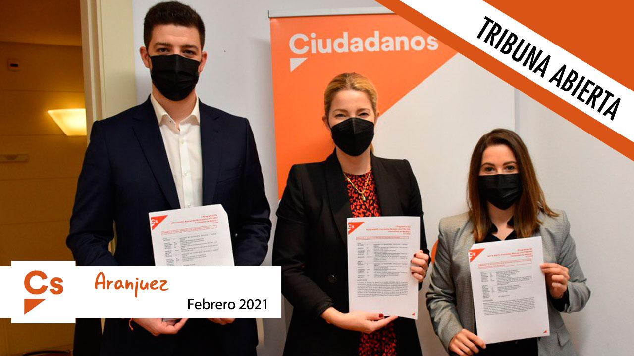 Opinión | Tribuna abierta del portavoz de Ciudadanos, Diego López de las Hazas