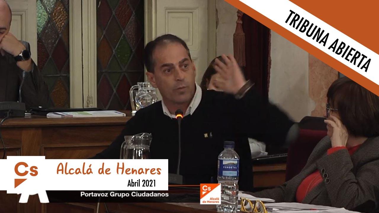 En esta ocasión Ciudadanos de Alcalá no tiene nada que decirnos
