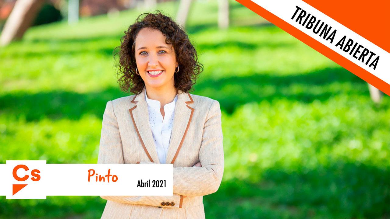 Ciudadanos Pinto, el único partido que presenta enmiendas a los presupuestos de 2021