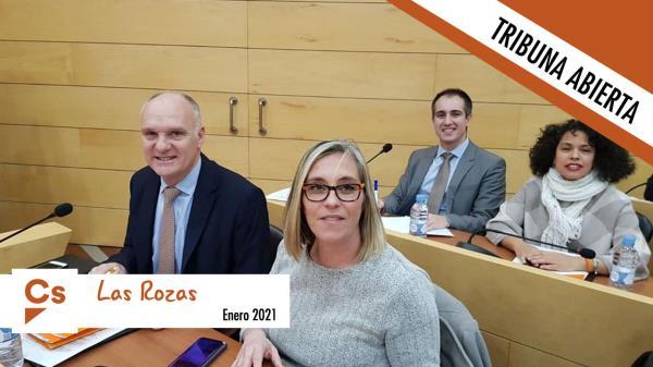 Tribuna abierta del concejal de Ciudadanos Las Rozas, Tomás Aparicio