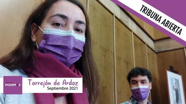 Este mes, el grupo de Podemos en Torrejón no tiene nada que decirnos