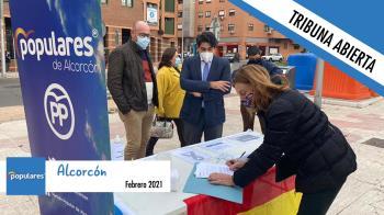 """""""Patente de corso para el insulto"""" en Alcorcón"""