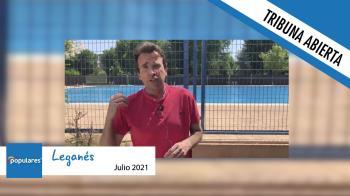 Verano en Leganés: sin piscinas, sin cultura y sin fiestas