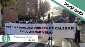 Manifestación por la reapertura del servicio de urgencias y por una sanidad pública de calidad
