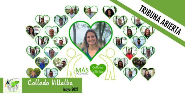 Este mes, el Grupo Municipal Más Collado Villalba no tiene nada que decirnos