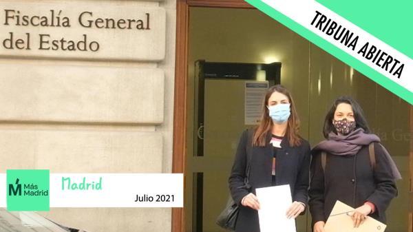 Este mes el grupo municipal Más Madrid no tiene nada que decirnos