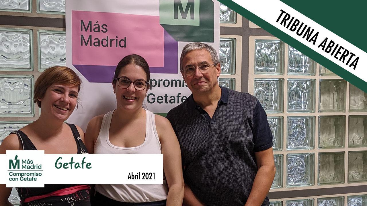 Este mes el Grupo Municipal Más Madrid-compromiso por Getafe no tiene nada que decirnos