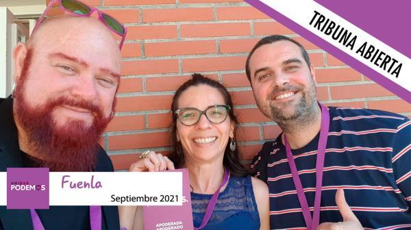 El grupo Podemos no ha remitido su columna este mes