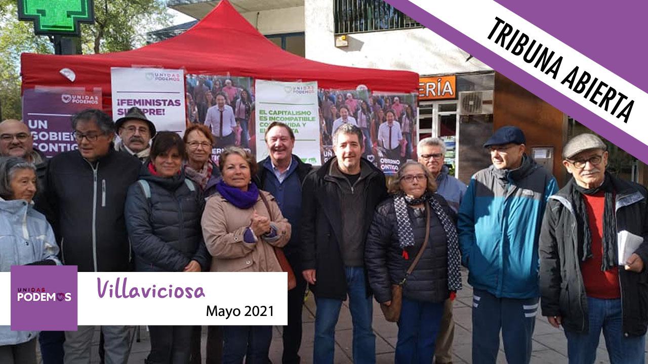Este mes el Grupo Municipal Podemos Villaviciosa de Odón no tiene nada que decirnos