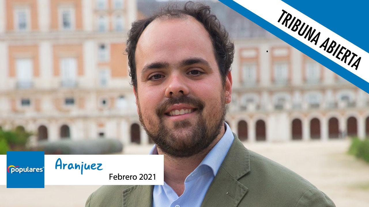 Opinión | Tribuna abierta del concejal del Partido Popular en el Ayuntamiento de Aranjuez, Miguel Gómez Herrero