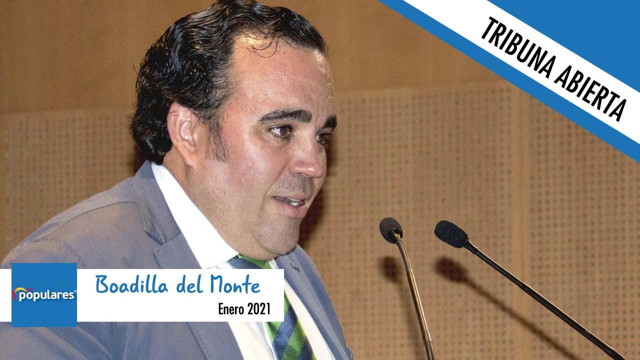 Opinión | Javier Úbeda, alcalde de Boadilla, nos remite la tribuna de enero