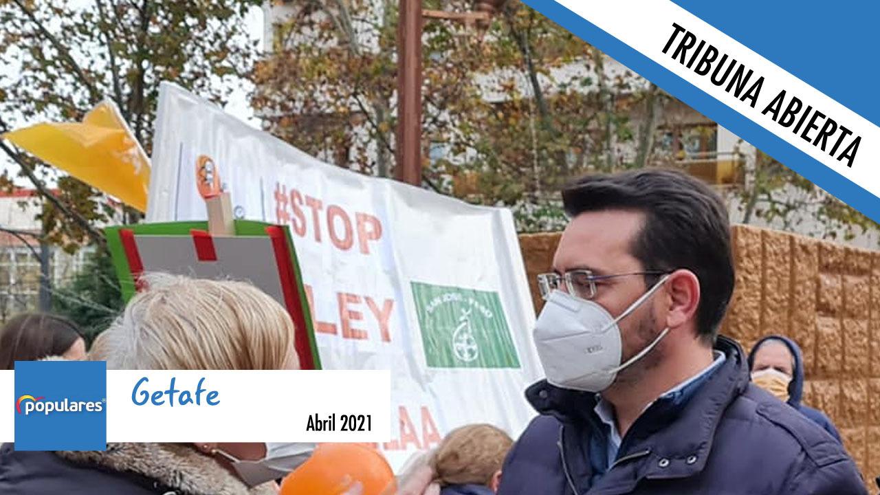 La alcaldesa ataca a la Educación Pública en Getafe