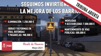 Seguimos mejorando los barrios de Alcalá