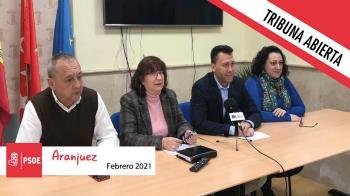 Opinión | Tribuna abierta de la portavoz del grupo socialista en el Ayuntamiento de Aranjuez, Montserrat García