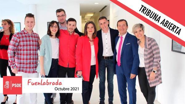 Este mes, PSOE Fuenlabrada no tiene nada que decirnos