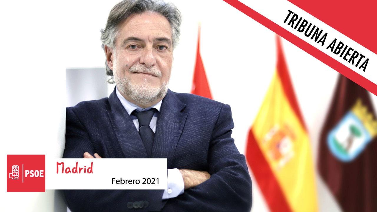 Opinión | El grupo socialista en el Ayuntamiento de Madrid no tiene nada que decirnos en el mes de febrero