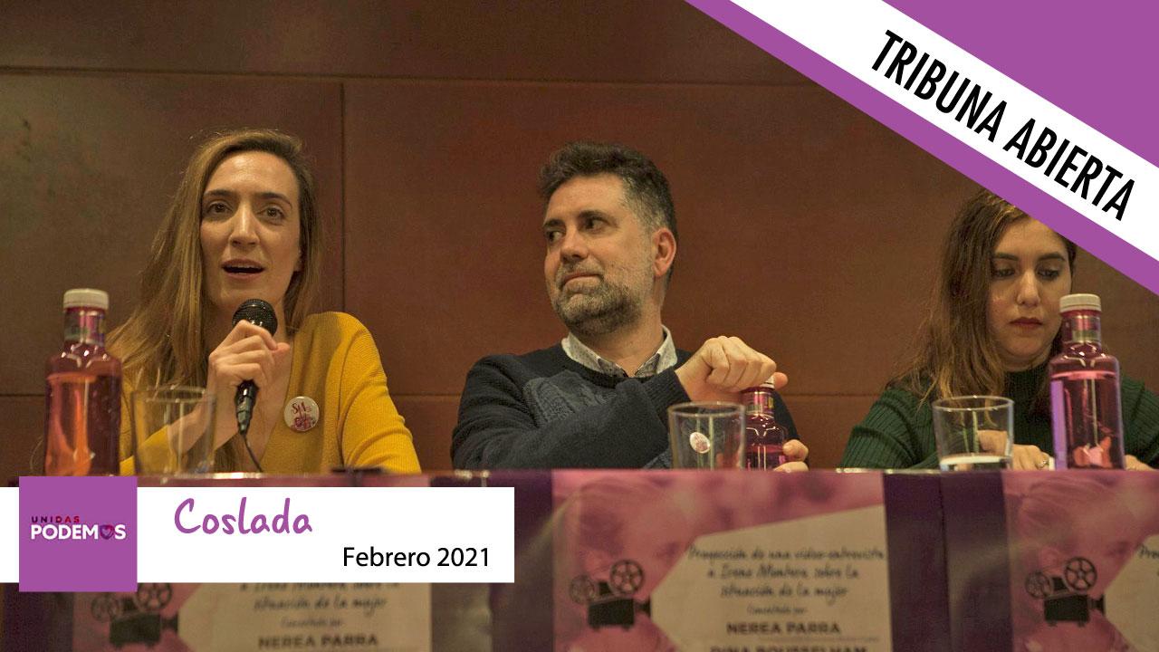 Opinión | El grupo municipal Unidas Podemos no tiene nada que decir este mes de febrero en Soyde.