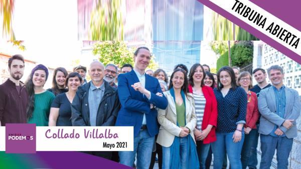 Este mes, el Grupo Municipal Unidas Por Collado Villalba no tiene nada que decirnos