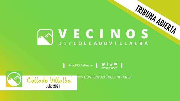 Este mes, Vecinos por Collado Villalba no tiene nada que decirnos