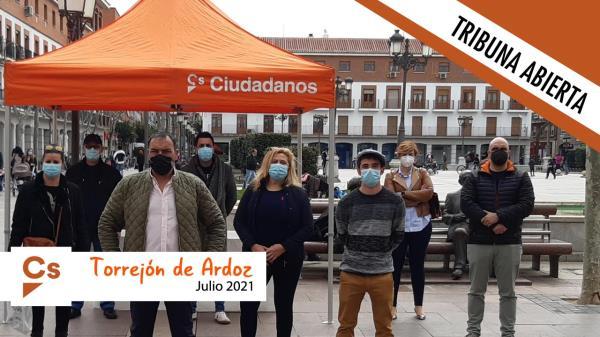 Cs Torrejón pide la plena apertura de los centros de Atención Primaria de Torrejón de Ardoz