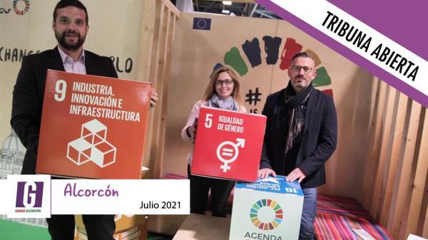 Un carril bici en el Ensanche Sur para abrir el debate sobre la movilidad sostenible en Alcorcón
