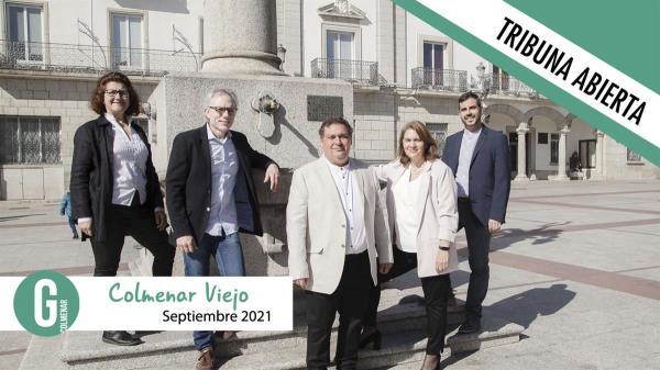 Ganemos Colmenar lleva a los exconcejales de Ciudadanos a la Comisión de Seguimiento del Pacto contra el Transfuguismo