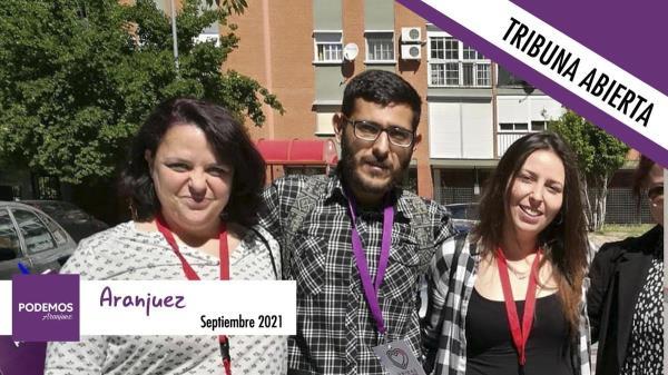 Podemos Aranjuez no tiene nada que decirnos