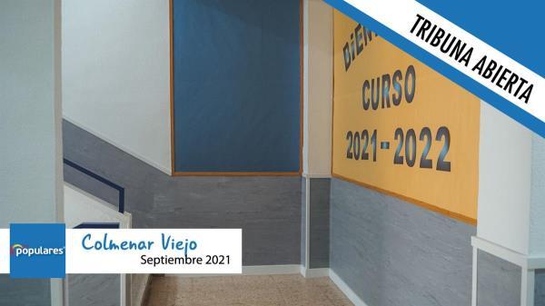 Colmenar Viejo arranca el curso escolar con una inversión de más de 190.000 € en mejoras para los centros