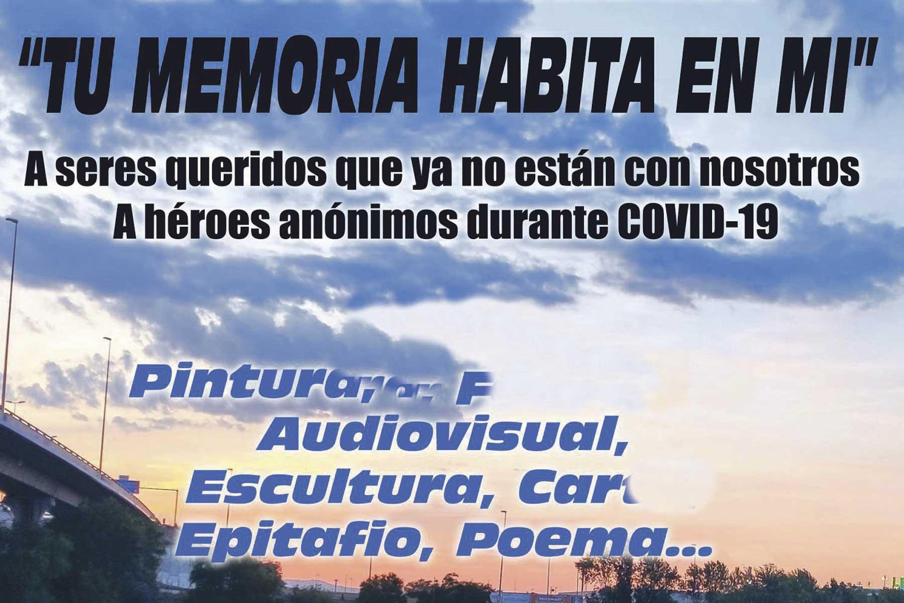 Participa enviando tu pintura, fotografía, escultura, poema o epitafio hasta el próximo 11 de septiembre