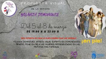 No te pierdas la propuesta visual de Yolanda Domínguez para Fuenlabrada