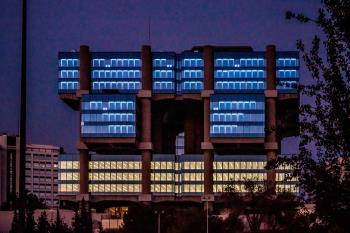 Su singular fachada ha formado parte, desde el 11 de septiembre, del proyecto artístico