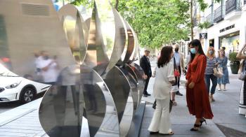 Las esculturas podrán verse en las calles de la capital hasta el próximo 18 de junio