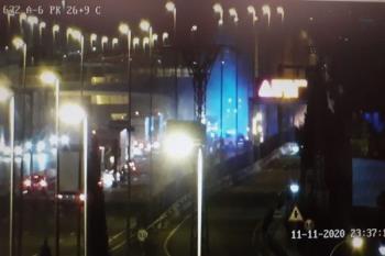 El espectacular suceso no ha dejado heridos en la noche del pasado miércoles