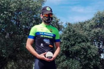 Felipe Sanchi se subió a lo más alto del podio en la categoría de máster 40