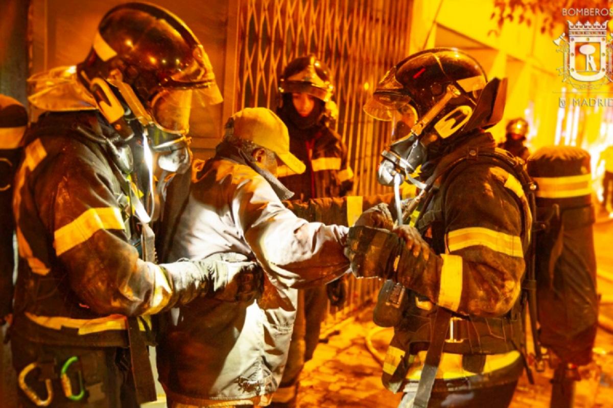 Los Bomberos de la Comunidad de Madrid investigan las causas del suceso