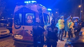 Los agentes de la Policía Nacional investigan las causas del suceso