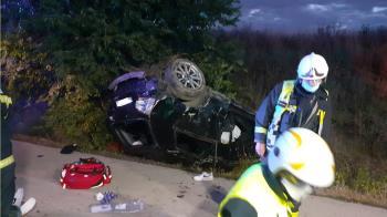 El accidente dejó, además, dos jóvenes de 18 años heridos leves