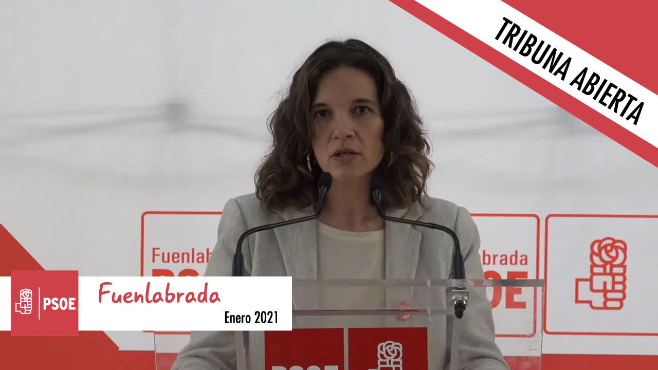 Tribuna abierta de PSOE Fuenlabrada