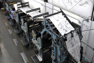 Lee toda la noticia 'Un trabajador de una imprenta de San Fernando de Henares sufre la amputación de una mano'