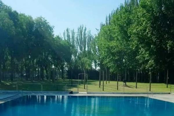 Un verano sin piscina en Moraleja de Enmedio