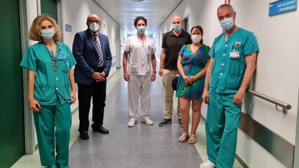 La aplicación ha sido desarrollada por el Servicio de Dermatología del Hospital 12 de octubre