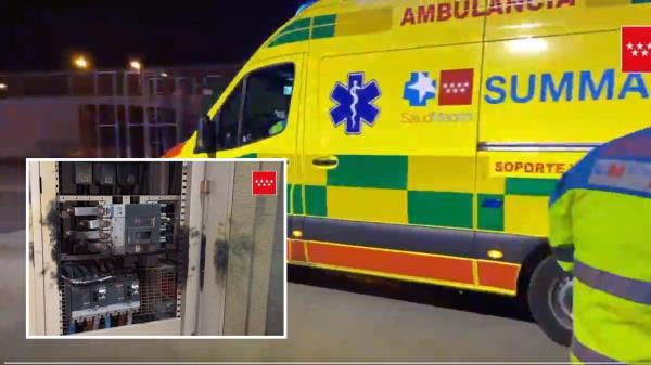 Una explosión en un Centro Comercial en Fuenlabrada deja dos heridos graves