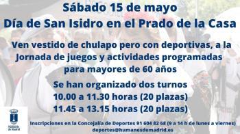 El evento se celebrará en el Prado de la Casa
