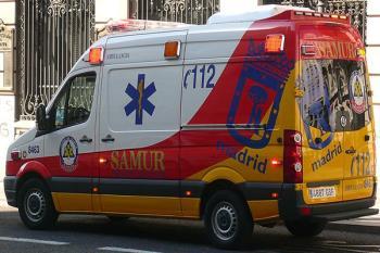 La víctima ya ha sido trasladada al Hospital de Torrejón