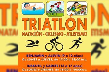 La Unión Atlética de Coslada ha creado una escuela de triatlón