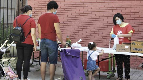 Una red de solidaridad en Alcalá de Henares para no dejar a nadie atrás