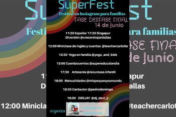 Mirian Galán es educadora infantil y el blog que le ha hecho candidata se llama SuperEducalandia
