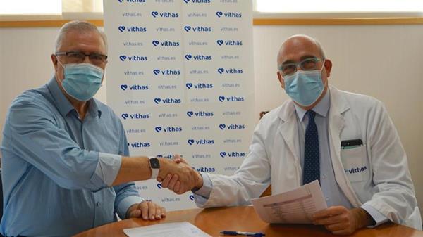 El Hospital y el equipo han firmado un acuerdo