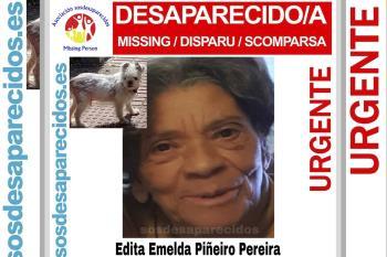 Edita lleva desaparecida, junto a su perro, desde el 20 de mayo