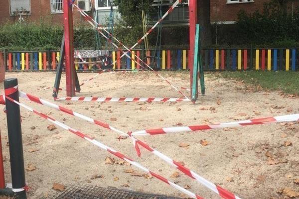 Vecinas de Alcorcón piden la reapertura de parques